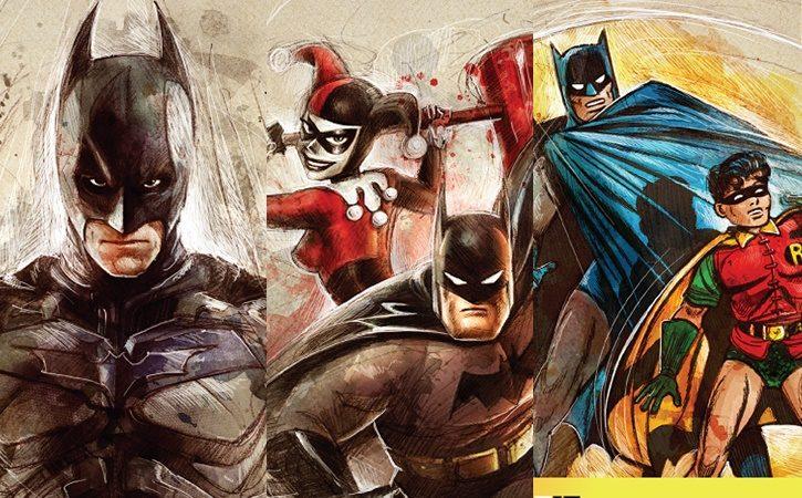 CCXP | Evento divulga arte das credenciais e homenageia os 80 anos do Batman!