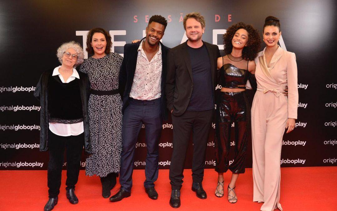 GLOBOPLAY | Elenco celebra estreia de nova temporada de 'Sessão de Terapia'!