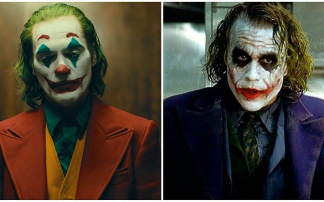 CORINGA   O vilão de Heath Ledger X o vilão de Joaquin Phoenix!