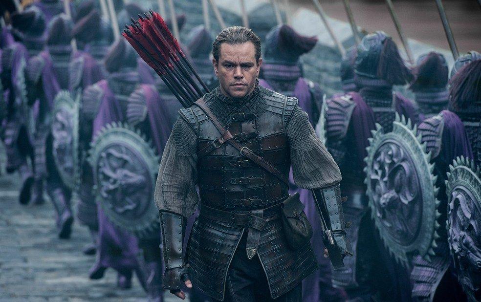 A GRANDE MURALHA   Longa protagonizado por Matt Damon, estreia no Universal TV!
