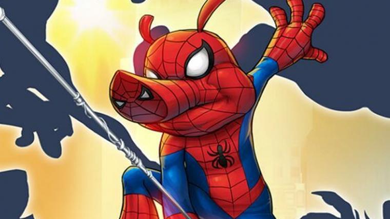 PORCO-ARANHA | Personagem ganhará série na Marvel!