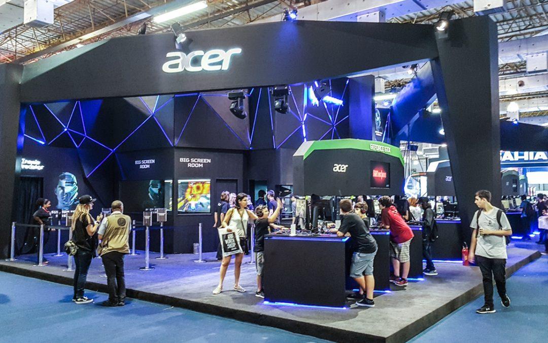 BGS | Venha interagir com as atrações no estande da Acer!