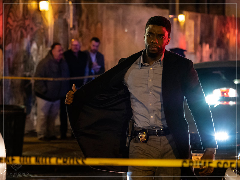 CRIME SEM SAÍDA | Thriller policial estrelado por Chadwick Boseman, ganha trailer!
