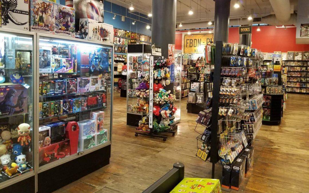 VLOG NYCC – 2019   Em busca da melhor loja de quadrinhos em NY!