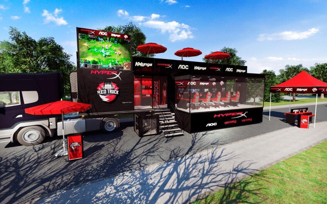 BGS 2019 | RED Truck HyperX atravessará o Brasil em busca de novos jogadores!