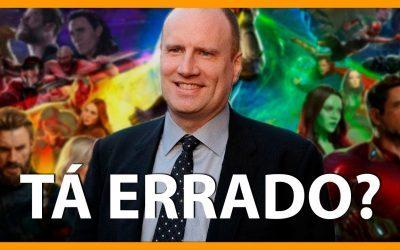 KEVIN FEIGE | A Marvel vai estragar tudo com o Disney+?