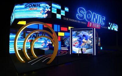PARAMOUNT PICTURES | Estúdio leva o universo de Sonic para a CCXP!