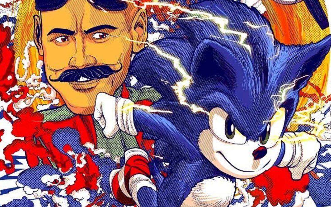 CCXP | Exposição de cartazes de 'Sonic – O Filme' feitos por fãs!