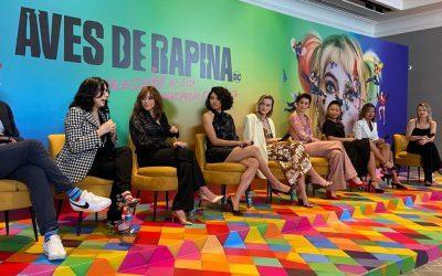 AVES DE RAPINA | Elenco fala sobre personagens, inspirações e muito mais!