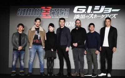 G.I.JOE ORIGENS: SNAKE EYE | Saiba as expectativas do elenco para o filme!