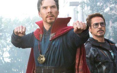 MARVEL | Foto revela Doutor Estranho com a armadura de Tony Stark!