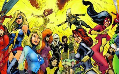 ESPECIAL MARVEL | Ep01. Viúva Negra e outras heroínas da Marvel!