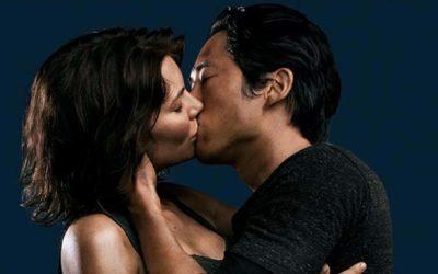 Os primeiros beijos da série The Walking Dead