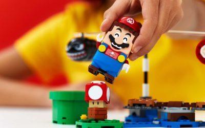 LEGO revela parceria com a Nintendo para linha do Super Mario