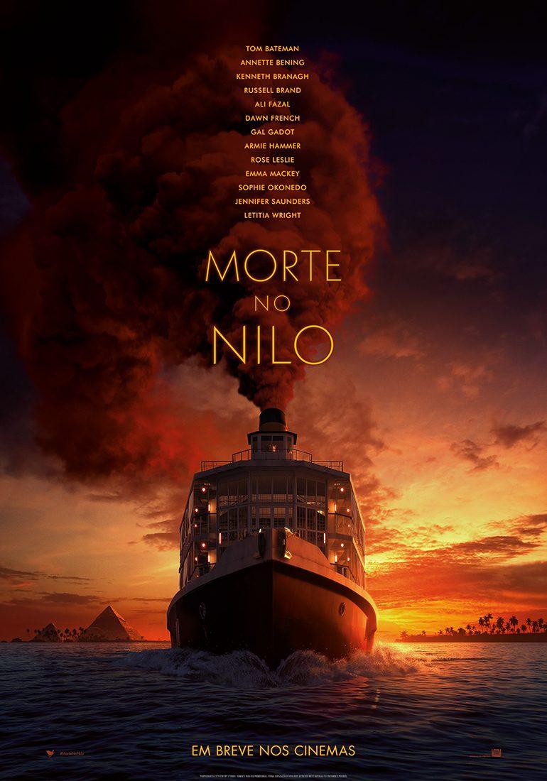 Morte no Nilo | Muito suspense no trailer da nova adaptação de Agatha Christie