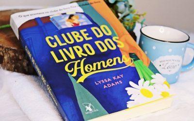 CLUBE DO LIVRO DOS HOMENS • Li e AMEI demais esse livro